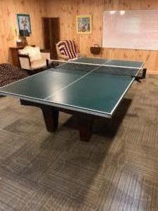 Ping Pong table - Basement